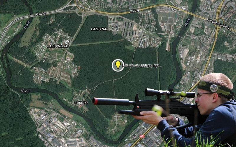 Pramogos Vilniuje - Lazdynai
