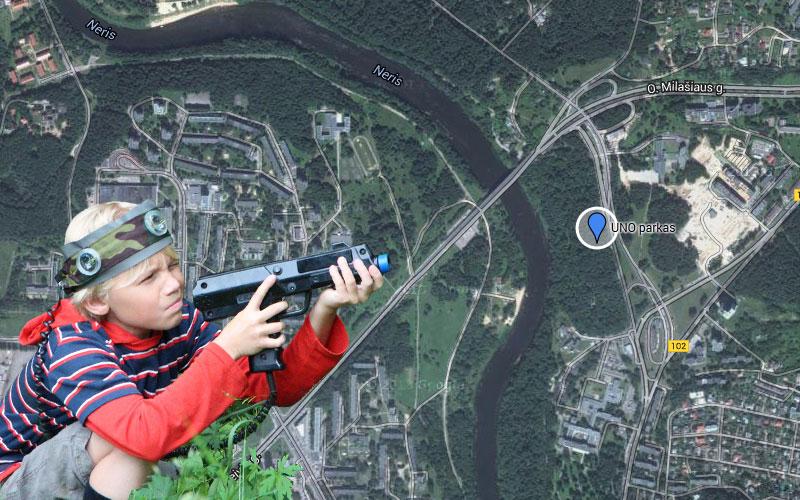 Pramogos Vilniuje - UNO parkas