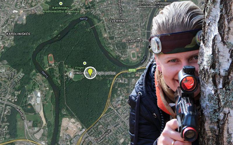 Pramogos Vilniuje - Vingio parkas