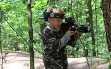 Danil ir Andrej 6-asis gimtadienis su LaserWar