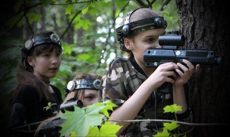 Neringos 13-asis gimtadienis su Laser Tag žaidimu Vilniuje
