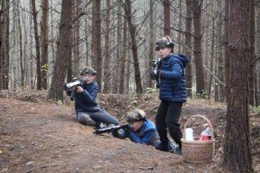 Miške sausa – žaisti galima toliau