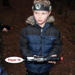 Gimtadienis su lazeriais miške. Išvažiuojamas Laser Tag žaidimas.