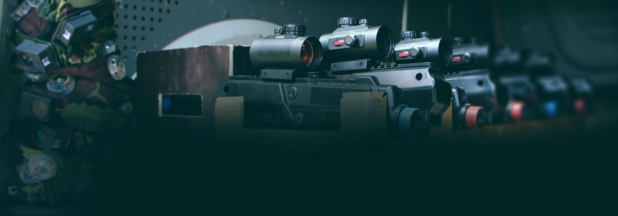 Laser Tag žaidimo įranga