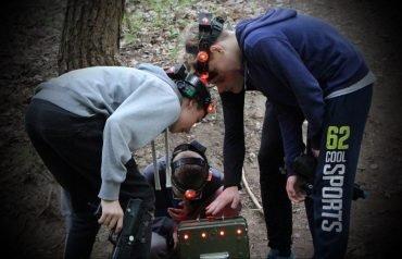 Nojaus 14-asis gimtadienis su LaserTag kovomis Antakalnio miškuose Vilniuje
