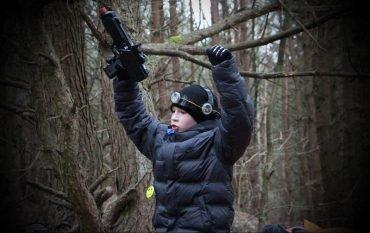 Roberto 11-asis gimtadienis lazerių arenoje miške