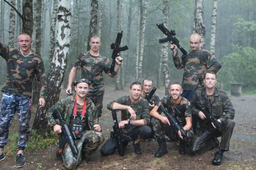 Bernvakaris su LaserWar – wet and wild party!
