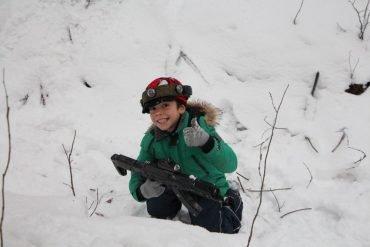 Ar žiemą irgi darote vaikų gimtadienius gamtoje?